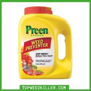 best weed killer for garden beds
