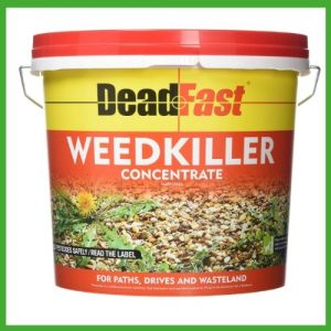 best weed killer for pebble driveway