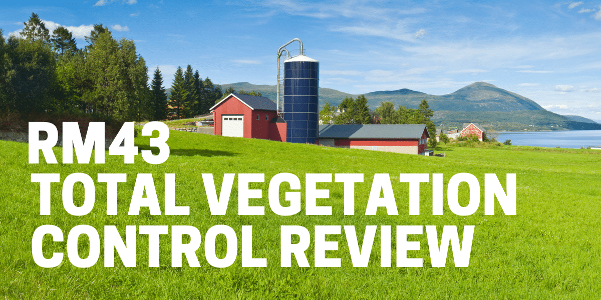 rm43 total vegetation control herbicide used to kill weeds